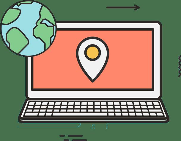 lokasyon bazlı çözümler görsel