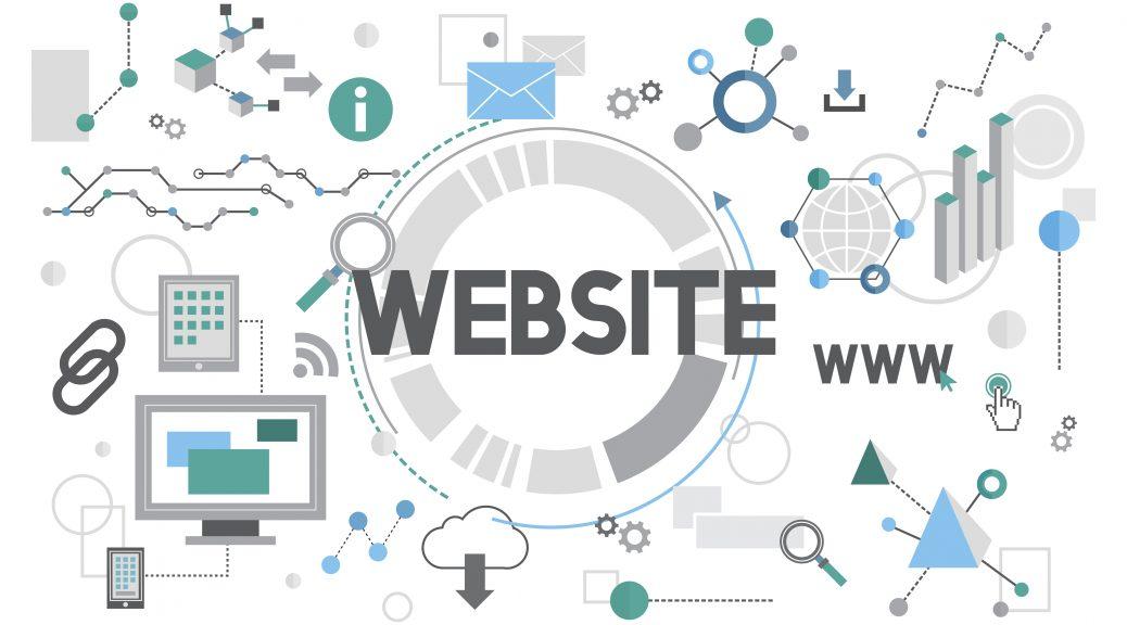 Web sitesi tasarımı görsel
